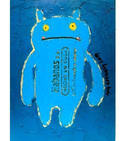 Cigar Box Series - Blue Chubby Man