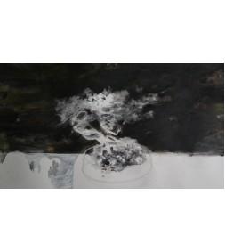 Potted landscape- seeds and flower tea (1)